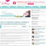Easy Weddings - real wedding