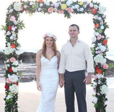 Gold Coast Wedding, wedding arch hire