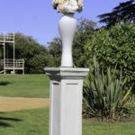 Sandstone wedding pillar