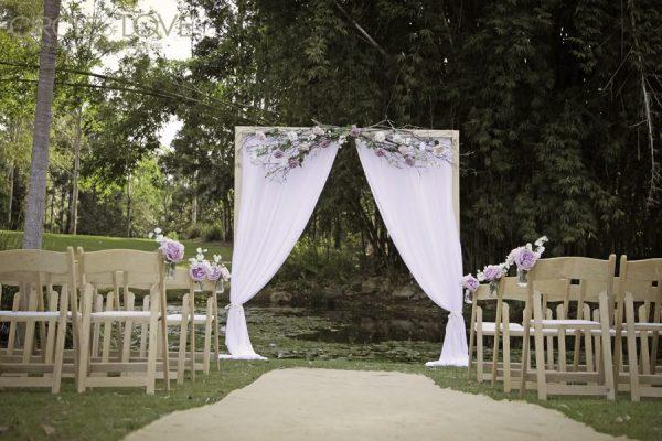 Kholo Botanic Gardens, Ipswich Wedding Ceremony