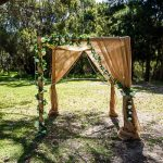 4 post Bamboo Arch