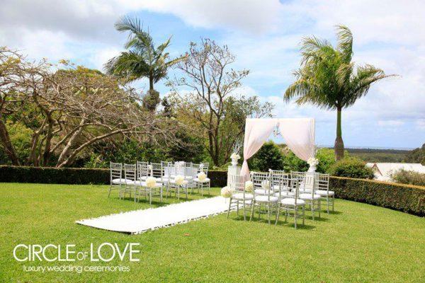 byron bay garden wedding