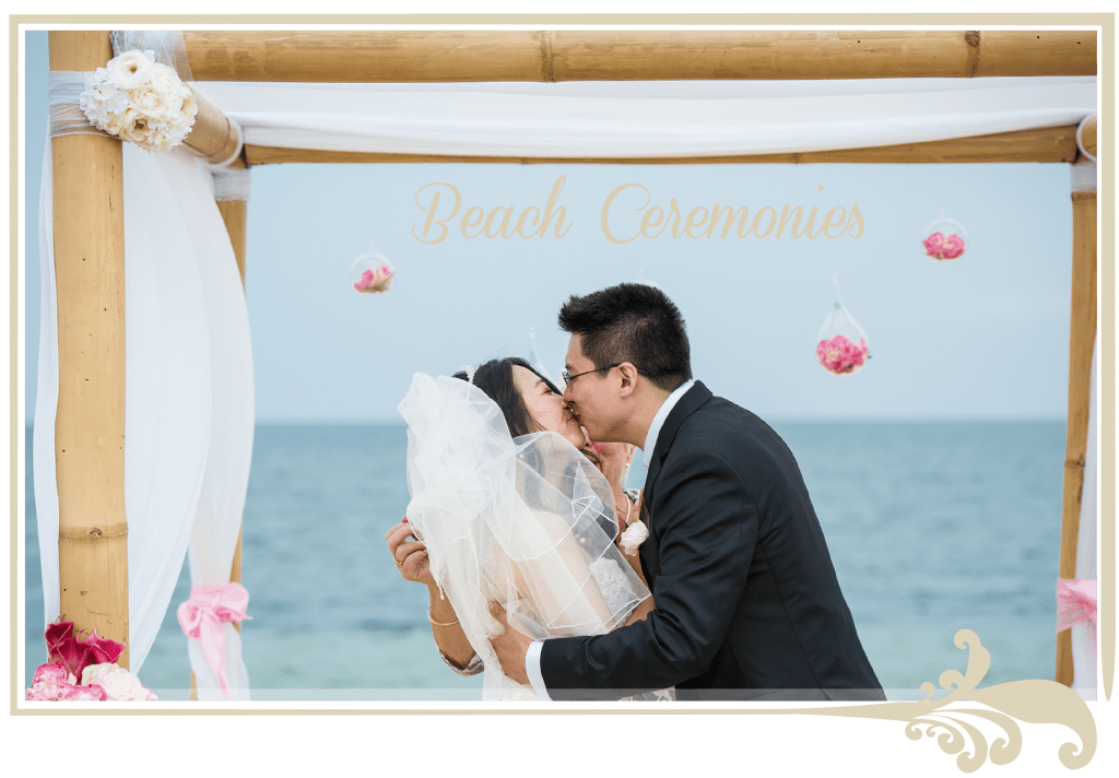 beach wedding ceremonies, beach weddings