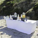 Beach refreshments