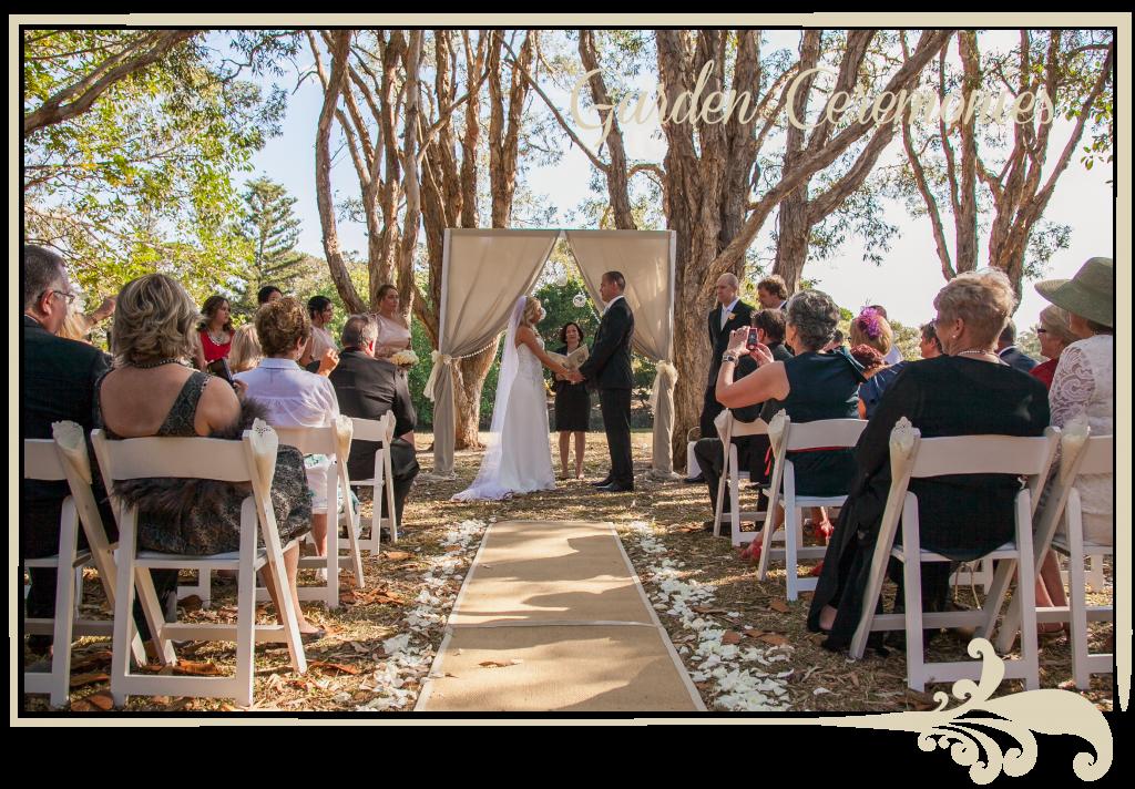 garden wedding ceremonies, garden weddings