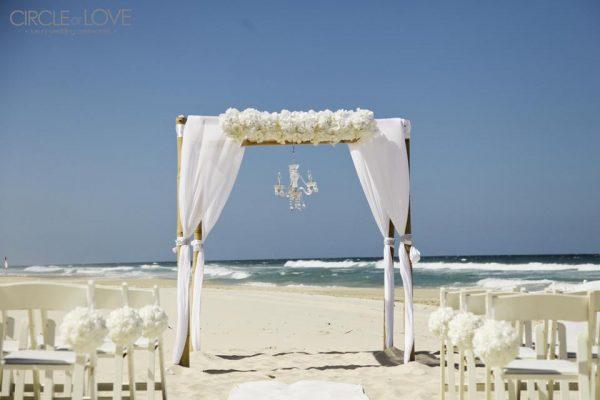 Gold coast beach weddings 2 circle of love wedding for Beach wedding venues east coast
