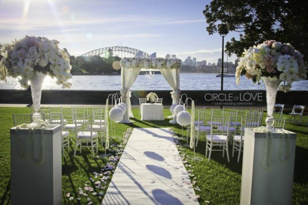 Wedding Ceremony Packages: Sydney Wedding Decorations For Venue And Stylist Hire