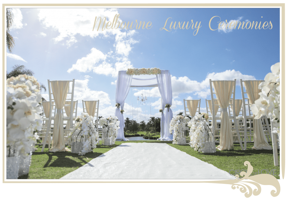 Wedding Hire Melbourne Wedding Ceremony Venues Styling Decorations