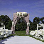 Outdoor Wedding aisle, aisle decorations, wedding arch