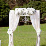 Sydney Park Wedding, Sydney Wedding, Outdoor wedding aisles