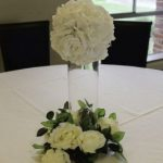 Rose ball centrepiece