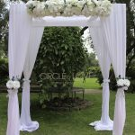 Floral Wedding Canopy