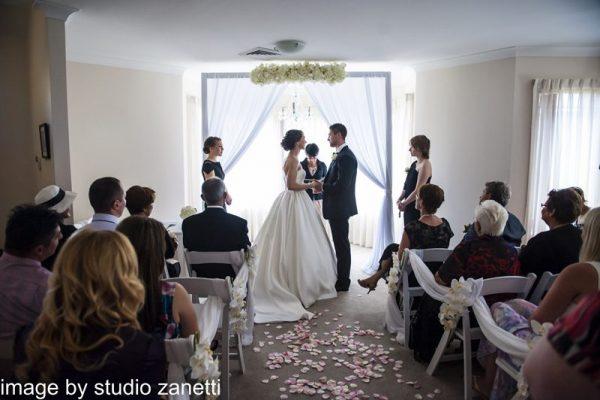 Indoor Sydney Wedding