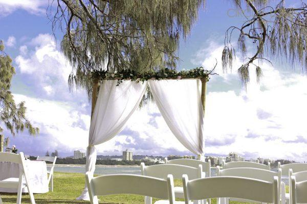 Mooloolaba Spit, Wedding hire