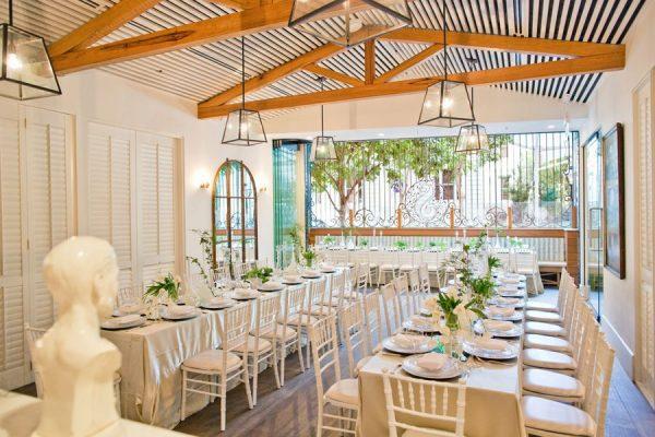 Spring Restaurant Wedding Venue Brisbane Hire Styling