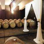 Shadowfax Winery wedding arch