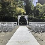 Wedding Arch, Treasury Gardens