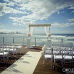 beach wedding styling gold coast