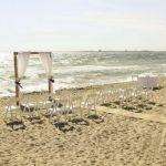 Elwood Beach wedding ceremony