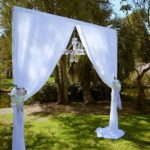 Footscray Park Wedding arch Melbourne, essendon wedding