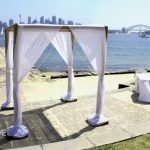 Four Poster Bamboo Arch