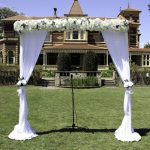 Garden wedding arches