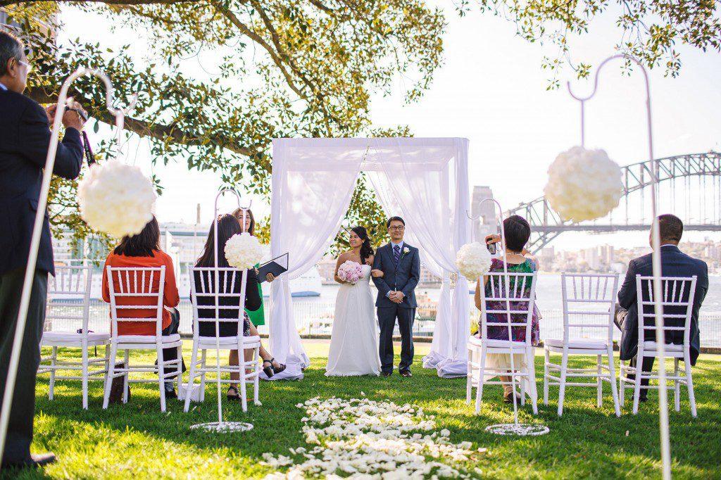 Garden Wedding Sydney, Wedding Sydney, Outdoor Ceremony Sydney