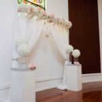 Indoor Wedding Ceremony decorator