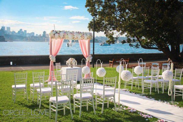 Sydney Wedding pink draping 1 of 1 e1403396511196 - Western Wedding Reception Decorating Ideas