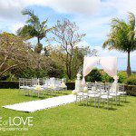 byron bay garden wedding
