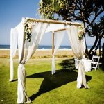 wedding arch hire gold coast