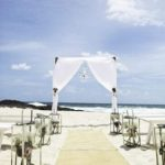 beach wedding styling gold coast