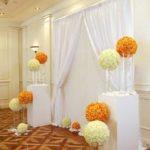 indoor wedding ceremony decorator