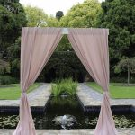 Pink single arch