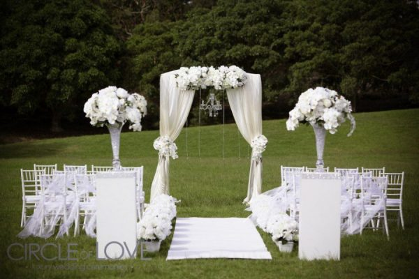 Stylist Wedding Reception Decorations Sydney Wedding Ceremony