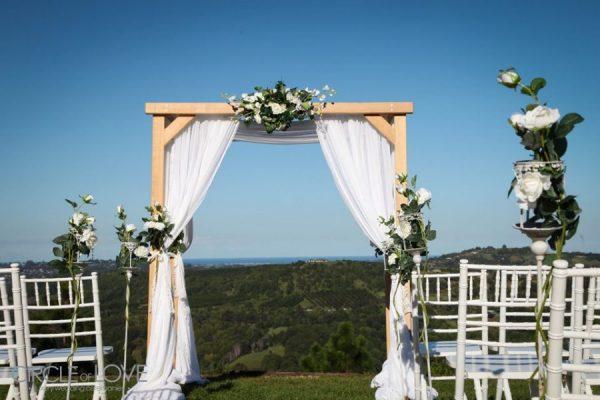 Beautiful Wedding Ceremony On The Tweed Coast Byron Bay