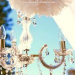 chandelier, wedding hire