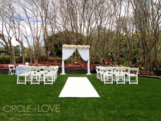 The Top Garden Wedding Venues In Brisbane Styling Hire