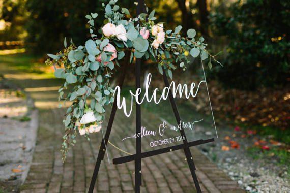Wedding sign ideas monogram chalkboard wooden source etsy junglespirit Choice Image