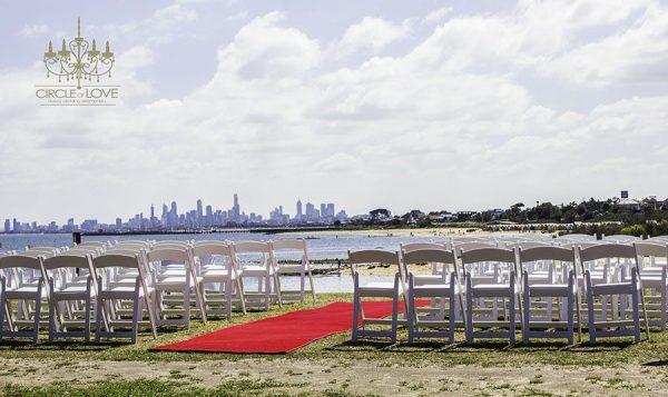 Greens Point Brighton wedding