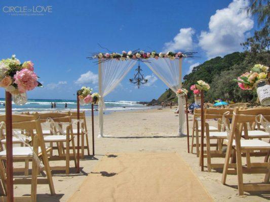 Wategos Beach Wedding Alana Alec 10 - beach wedding bay area