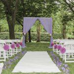 Ashcombe Maze wedding