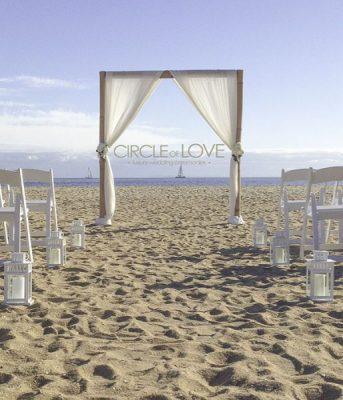 Brighton Beach Wedding Ceremony: Brighton Beach Weddings Melbourne