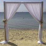 Mornington Beach wedding ceremony
