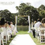 Wedding Arch, Werribee Park