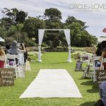Wedding Arch, Werribee Park