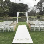 Werribee mansion wedding ceremony grotto