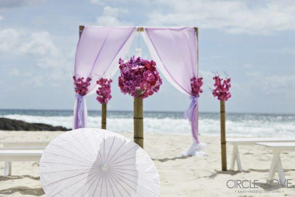 North Burleigh Beach Weddings Gold Coast Decorator