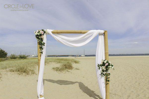 Wedding Arch, West Bathers Pavilion